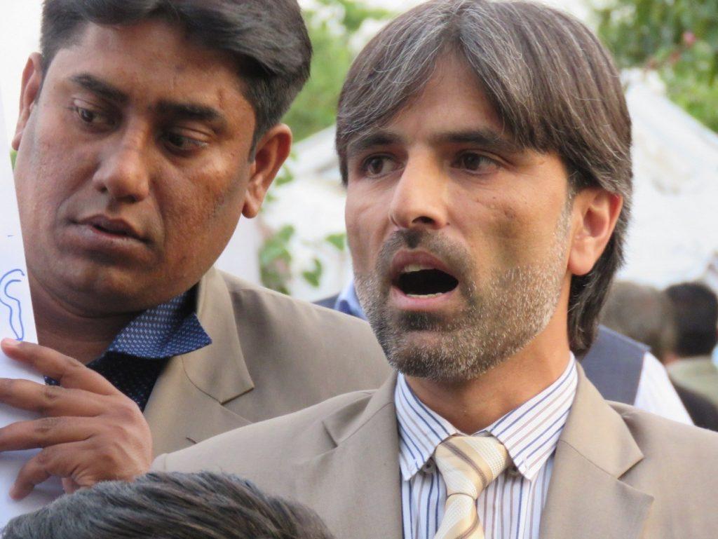 خبرنگاران پاکستانی 6 1024x769 - تصاویر/ خبرنگاران پاکستانی به خیابان ها آمدند!