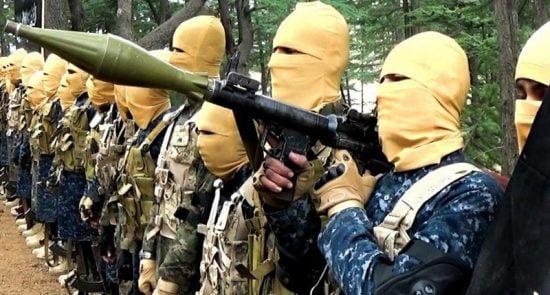 داعش 1 550x295 - افزایش نگرانی ها از عسکرگیری داعشیان در نورستان