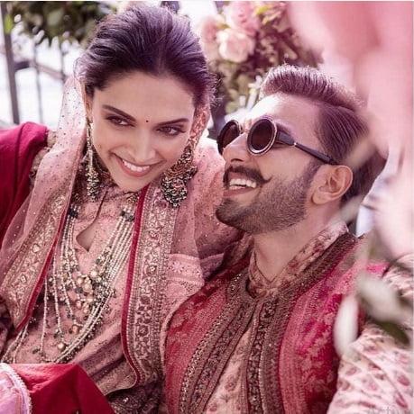 دیپیکا پادوکنه و رانویر سینگ 3 - تصاویر/ مراسم ازدواج دو بازیگر معروف هندی در ایتالیا