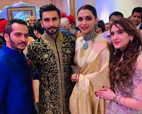 دیپیکا پادوکنه و رانویر سینگ 4 - تصاویر/ مراسم ازدواج دو بازیگر معروف هندی در ایتالیا