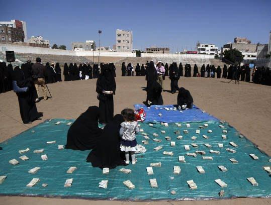 زنان یمنی 3 - تصاویر/ زنان یمنی با دالرهایشان چه کردند؟