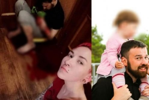 زن روس - اقدام وحشیانه زن روس با شوهر اش همه را شگفت زده کرد! + عکس