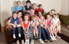 سو رادفورد 226x145 - زن بریتانیایی، 21 مین فرزندش را به دنیا آورد!
