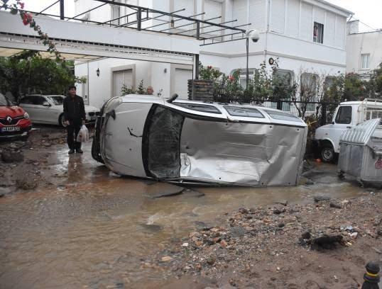 سیل 1 - تصاویر/ باران سیل آسا در ترکیه!