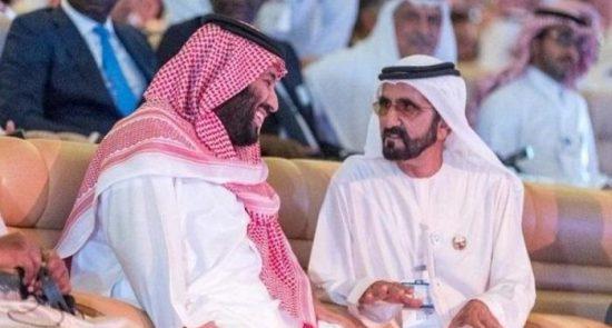 شیخ محمد بن راشد آل مکتوم 550x295 - چاپلوسی حاکم دوبی برای آل سعود!