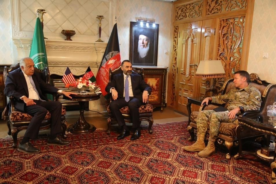 عطا محمد نور3 - تصاویر/ دیدار ۳ مقام ارشد امریکایی با عطا محمد نور