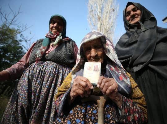 فاطمه بینگول 2 - تصاویر/ پیرترین زن ترکیه