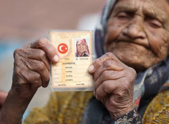 فاطمه بینگول - تصاویر/ پیرترین زن ترکیه