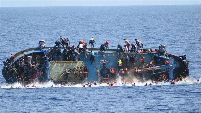 قایق - غرق شدن قایق حامل پناهجویان افغان در آبهای ترکیه
