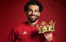 محمد صلاح 226x145 - از مجسمه عجیب ستاره فوتبال مصر رونمایی شد + عکس