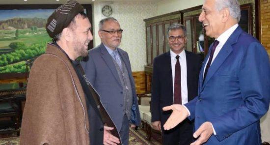 محمد محقق زلمی خلیلزاد 550x295 - جزییات دیدار محمد محقق با زلمی خلیلزاد