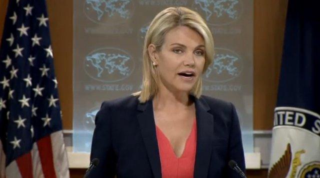 هدر ناوئرت - امریکا: ما در تعین تاریخ برگزاری انتخابات ریاست جمهوری افغانستان دخالتی نمی کنیم