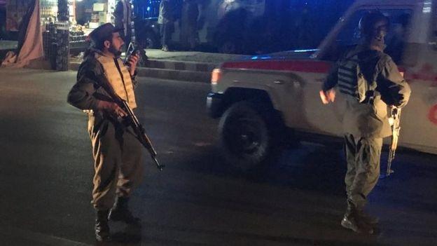 هوتل اورانوس کابل 2 - تصاویر/ حمله انتحاری بالای هوتل اورانوس کابل