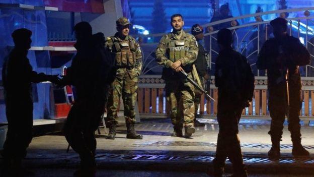 هوتل اورانوس کابل 3 - تصاویر/ حمله انتحاری بالای هوتل اورانوس کابل