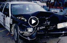 ویدیو تصادف موترسایکل موتر پولیس 226x145 - ویدیو/ تصادف وحشتناک موترسایکل سوار با موتر پولیس
