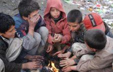 کودکان بیجاشده افغانستان