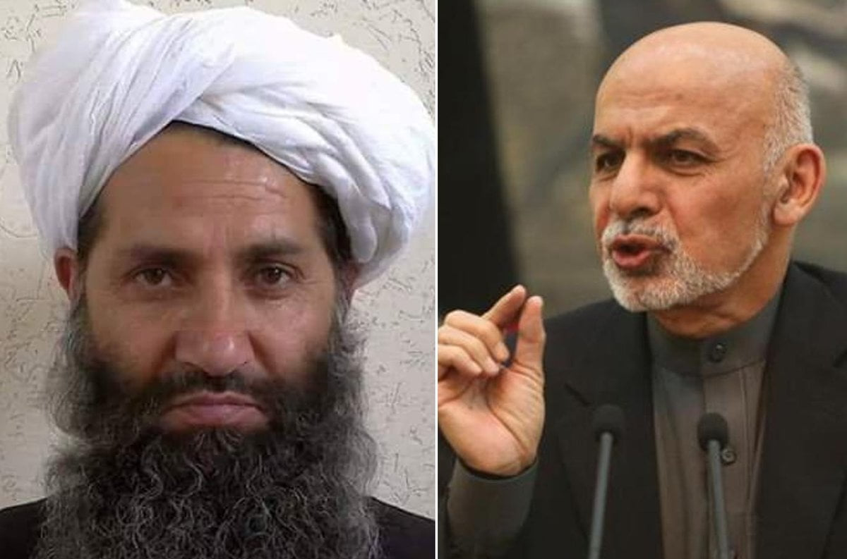 اشرف غنی هبت الله - اشرف غنی طالبان را تحقیر کرد!