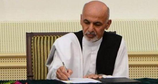 اشرف غنی  550x295 - دستور خاص رییس جمهور غنی به تمام نیروهای امنیتی افغانستان