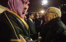 الباجی قائد السبسی بن سلمان 226x145 - پاداش 830 ملیون دالری عربستان به تونس