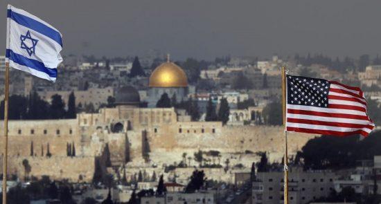 امریکا اسراییل 550x295 - امریکا دیگر نمیتواند میانجی صلح در خاورمیانه باشد
