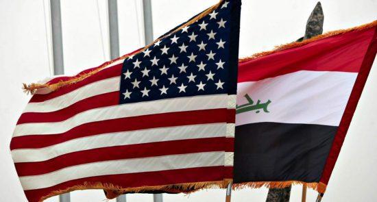 امریکا عراق 550x295 - لغو دیدار صدراعظم عراق و ترمپ بعلت اختلافات!