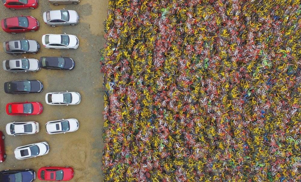 بایسکل 2 - تصاویر/ گورستانی عجیب در کشور چین