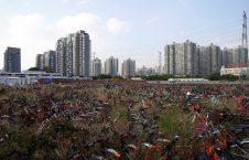بایسکل 5 226x145 - تصاویر/ گورستانی عجیب در کشور چین