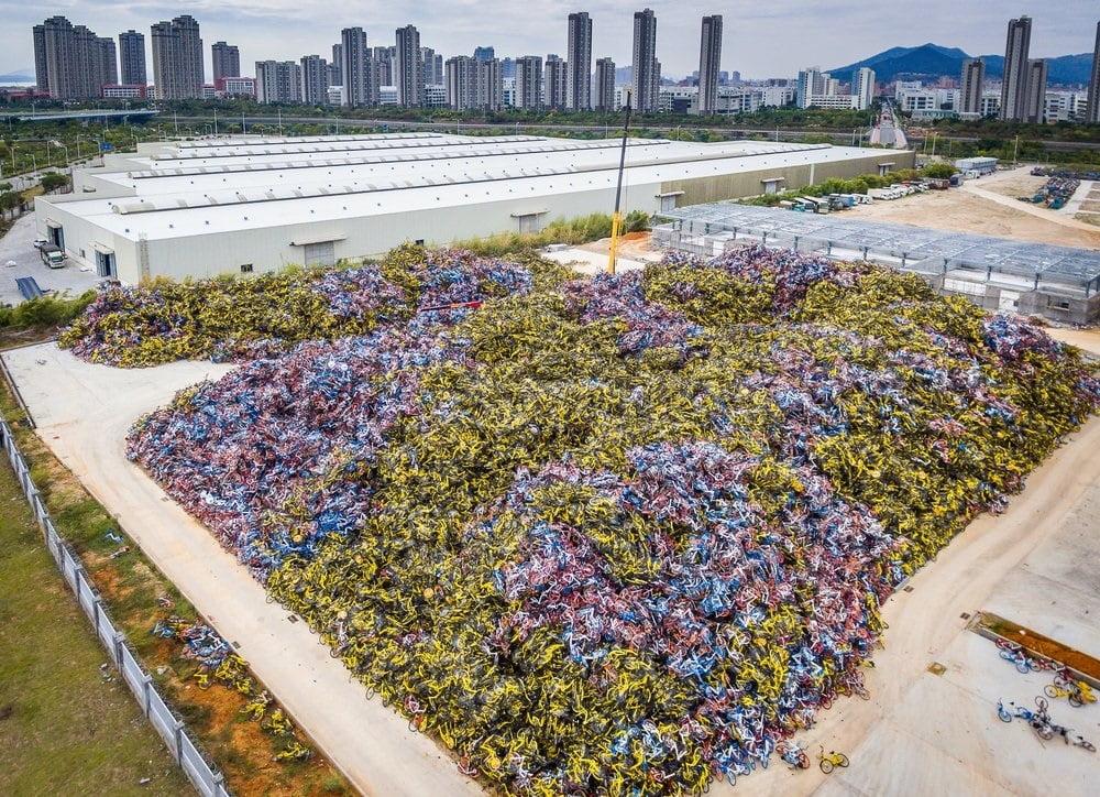 بایسکل 6 - تصاویر/ گورستانی عجیب در کشور چین