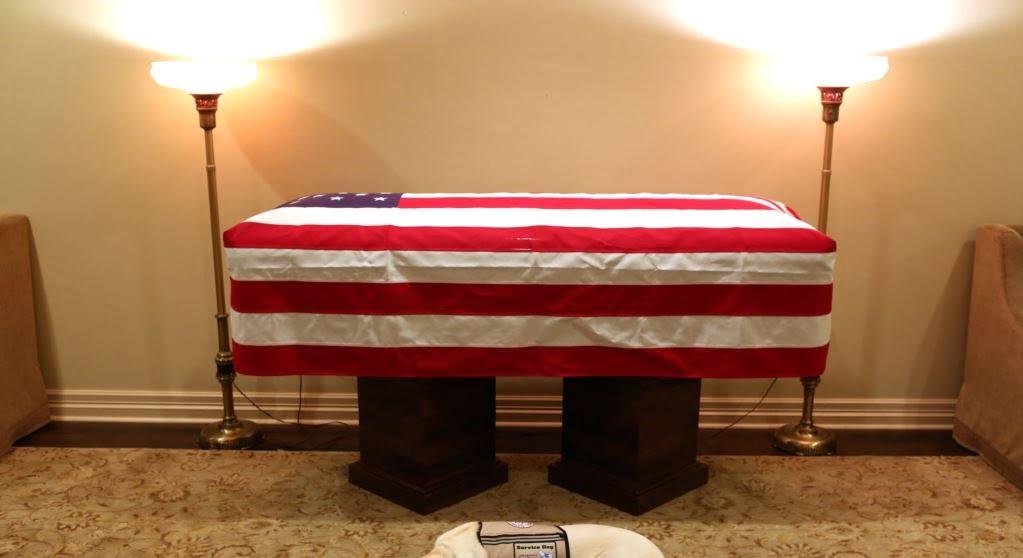 تابوت بوش 1 - تصاویر/ تابوت ایچ دبلیو بوش در کانگرس امریکا