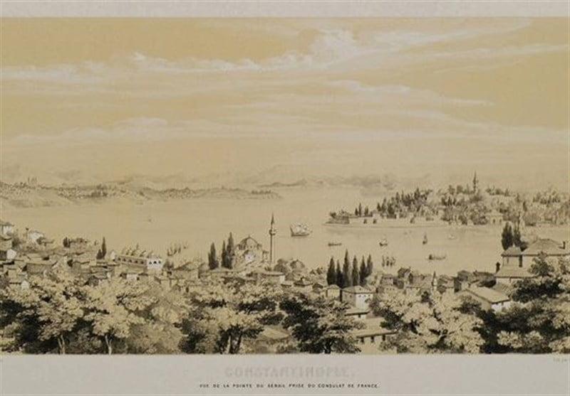 ترکیه در 180 سال پیش 1 - تصاویر/ معماری و زنده گی مردم ترکیه در 180 سال پیش!
