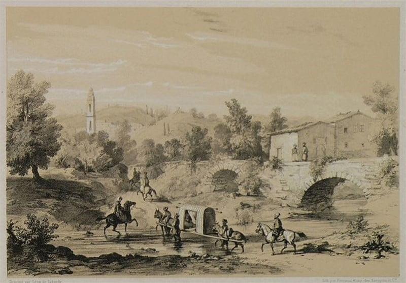 ترکیه در 180 سال پیش 7 - تصاویر/ معماری و زنده گی مردم ترکیه در 180 سال پیش!