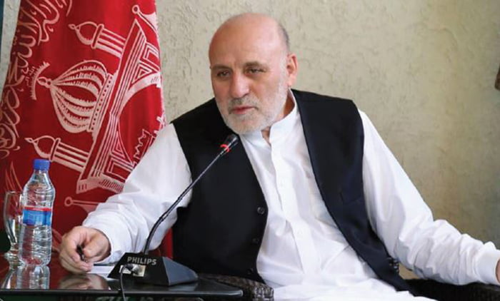 داوودزی - سفر رییس دارلانشای شورای عالی صلح به ایران