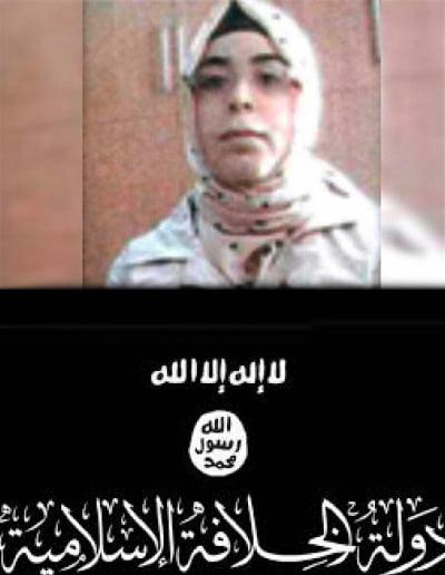 زن داعشی - زن مشهور داعشی دستگیر شد + عکس