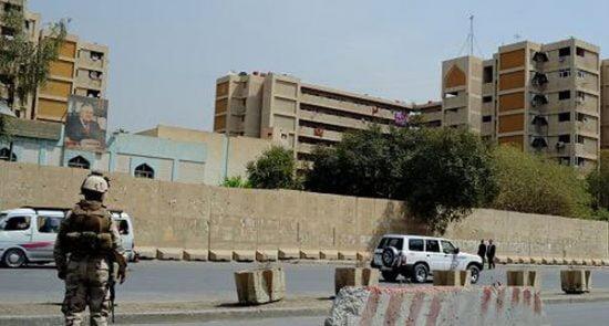 سفارت امریکا 550x295 - حمله راکتی به سفارت امريکا در بغداد!