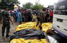 سونامی اندونزیا 2 226x145 - تصاویر/ سونامی مرگبار در اندونزیا