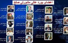 حضور کمرنگ زنان در بورد عالی مشورتی صلح با طالبان