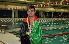 عباس کریمی 226x145 - شناگر افغان به رقابتهای جهانی شنای معلولان، راه یافت