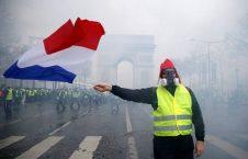 فرانسه 2 226x145 - تنفس واسکت زردها در 17 امین شنبه اعتراضات؛ در انتظار هفته آینده