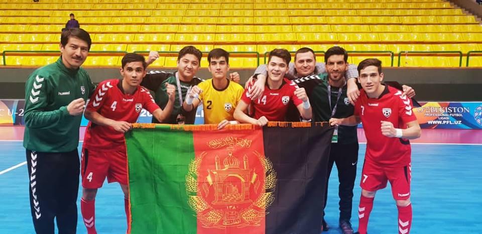 فوتسال افغانستان - تیم فوتسال زیر ۲۰ سال افغانستان به جام ملت های ۲۰۱۹ آسیا راه یافت