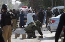 قونسولگری چین 226x145 - مغز متفکر حمله به قونسولگری چین در کراچی، در افغانستان کشته شد