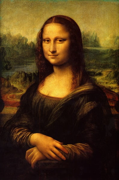 مونالیزا1 - تصویر/ شباهت باورنکردنی یک زن با مونالیزا