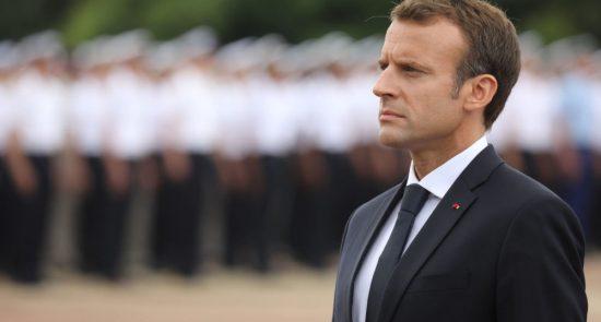 مکرون 550x295 - انتقاد صدراعظم مالی از تروریست پروری فرانسه