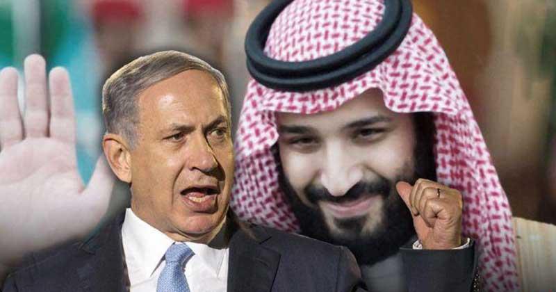 نتانياهو بن سلمان - نقش نتانياهو در حمايت از بنسلمان