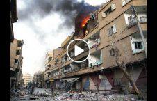 ویدیو آتش داعش سوری بی خانمان 226x145 - ویدیو/ آتش داعش، سوری ها را بی خانمان کرد!