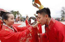 ویدیو/ حرکت عجیب داماد در روز ازدواج اش!