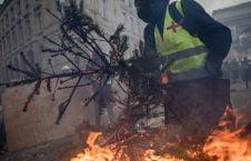 پاریس 9 226x145 - تصاویر/ پاریس غرق در دود و آتش