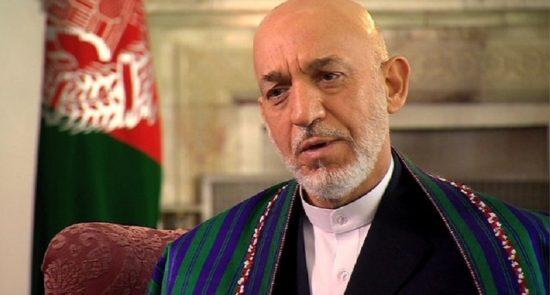 کرزی 550x295 - دیدگاه حامد کرزی درباره برگزاری نشست صلح افغانستان در ترکیه