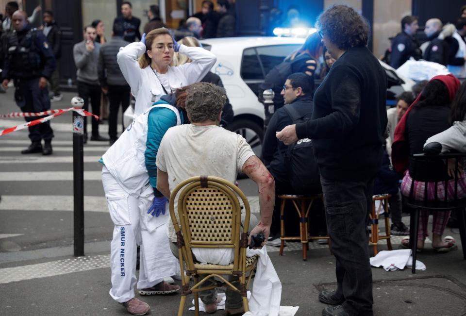 انفجار فرانسه 1 - تصاویر/ انفجار مهیب در پایتخت فرانسه