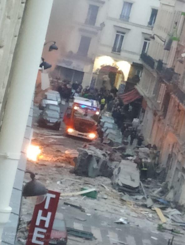 انفجار فرانسه 5 - تصاویر/ انفجار مهیب در پایتخت فرانسه