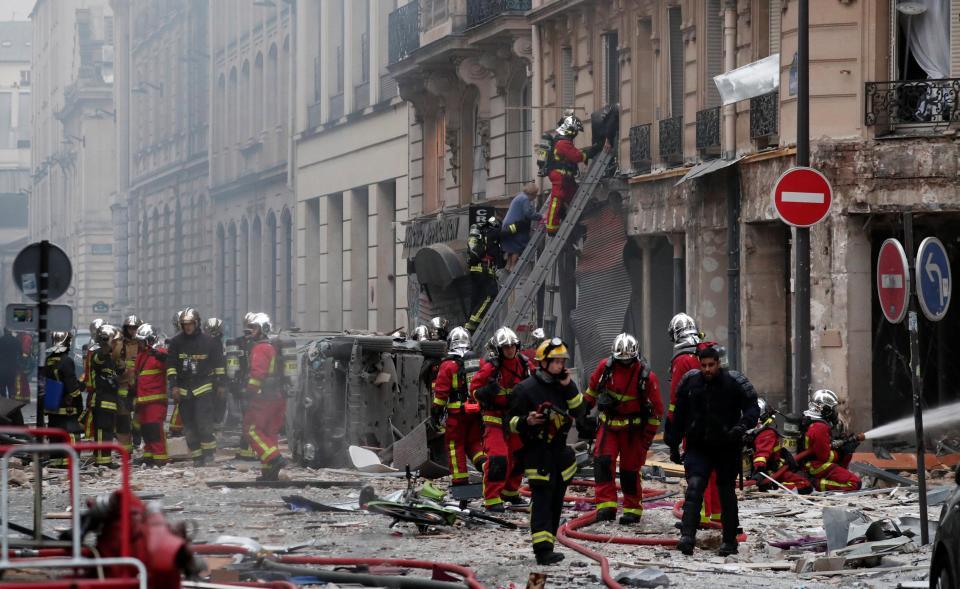 انفجار فرانسه 6 - تصاویر/ انفجار مهیب در پایتخت فرانسه